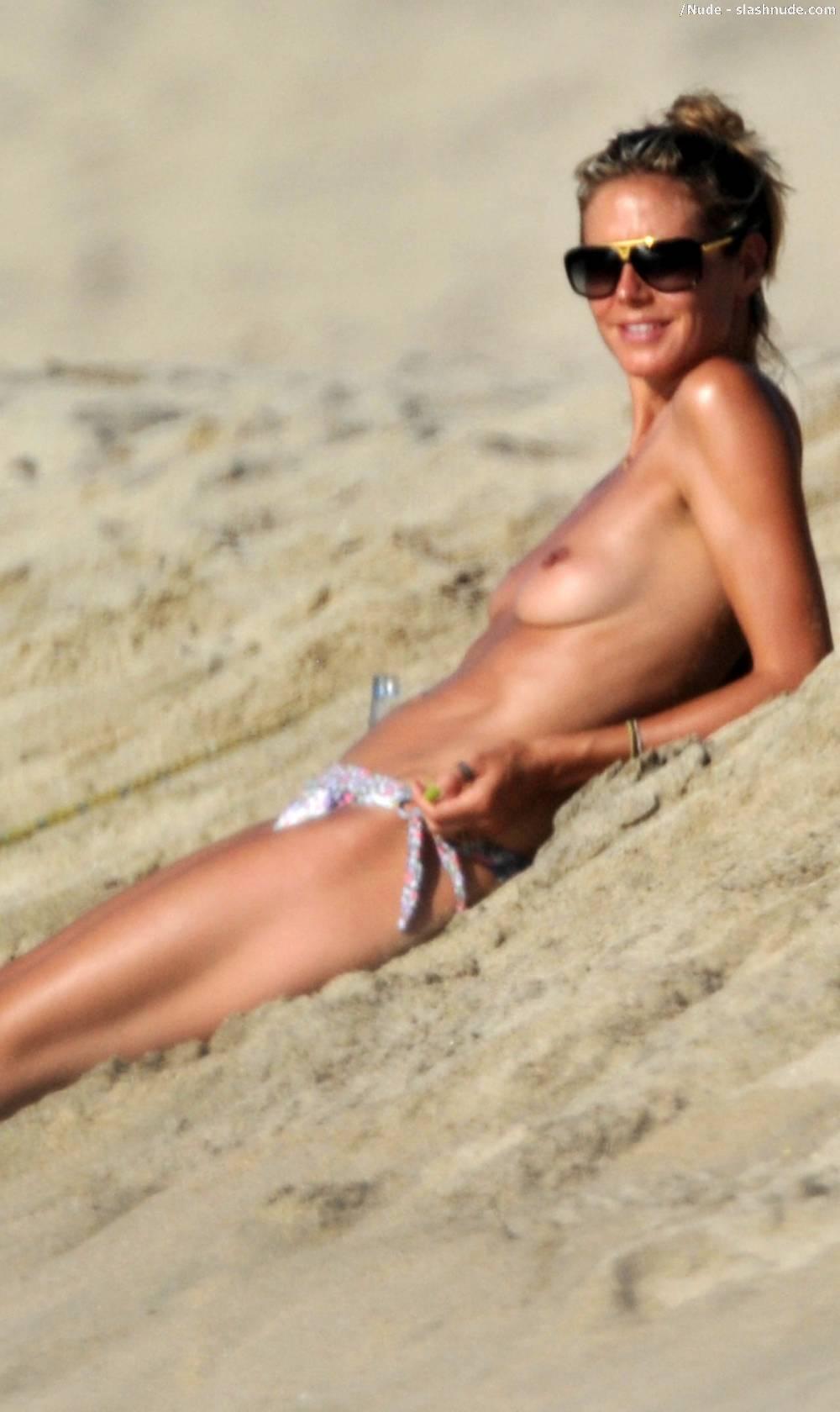 from Messiah hiedi klum nude beach